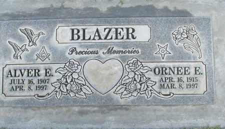 BLAZER, ALVER ELLSWORTH - Sutter County, California | ALVER ELLSWORTH BLAZER - California Gravestone Photos