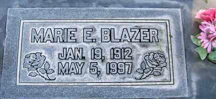 BLAZER, MARIE ELIZABETH - Sutter County, California | MARIE ELIZABETH BLAZER - California Gravestone Photos