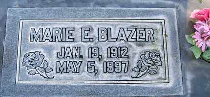 BLAZER, MARIE ELIZABETH - Sutter County, California   MARIE ELIZABETH BLAZER - California Gravestone Photos