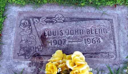 BLENN, LOUIS JOHN - Sutter County, California | LOUIS JOHN BLENN - California Gravestone Photos