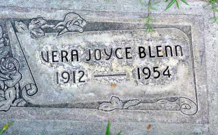 BLENN, VERA JOYCE - Sutter County, California | VERA JOYCE BLENN - California Gravestone Photos