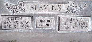 BLEVINS, MORTON LEVI - Sutter County, California | MORTON LEVI BLEVINS - California Gravestone Photos