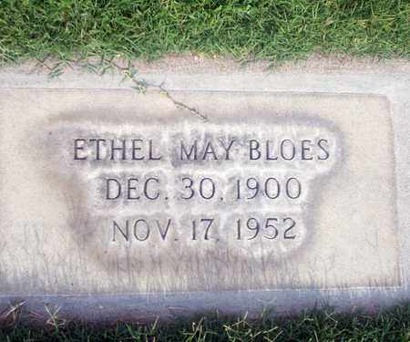 BLOES, ETHYEL MAY - Sutter County, California | ETHYEL MAY BLOES - California Gravestone Photos