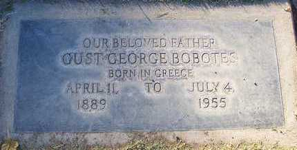 BOBOTES, GUS GEORGE - Sutter County, California | GUS GEORGE BOBOTES - California Gravestone Photos