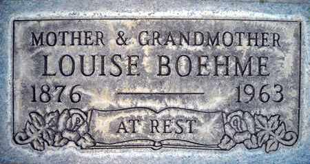 BOEHME, LOUISE - Sutter County, California | LOUISE BOEHME - California Gravestone Photos