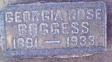BOGGESS, GEORGIA ROSE - Sutter County, California | GEORGIA ROSE BOGGESS - California Gravestone Photos