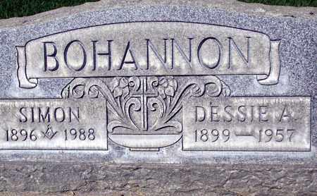 BOHANNON, SIMON - Sutter County, California | SIMON BOHANNON - California Gravestone Photos