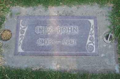 BOHN, INEZ R. - Sutter County, California   INEZ R. BOHN - California Gravestone Photos
