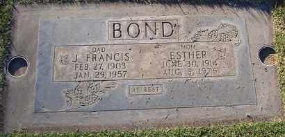 BOND, ESTHER VELVA - Sutter County, California | ESTHER VELVA BOND - California Gravestone Photos