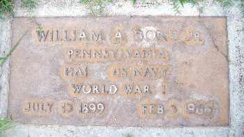 BONE, JR., WILLIAM A. - Sutter County, California | WILLIAM A. BONE, JR. - California Gravestone Photos