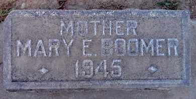 BOOMER, MARY E. - Sutter County, California | MARY E. BOOMER - California Gravestone Photos