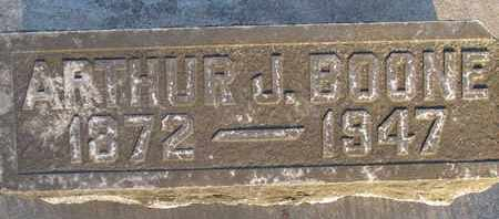 BOONE, ARTHUR J. - Sutter County, California | ARTHUR J. BOONE - California Gravestone Photos