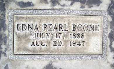 BOONE, EDNA PEARL - Sutter County, California | EDNA PEARL BOONE - California Gravestone Photos