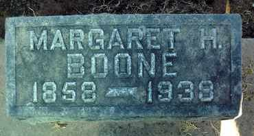 BOONE, MARGARET HOWARD - Sutter County, California | MARGARET HOWARD BOONE - California Gravestone Photos