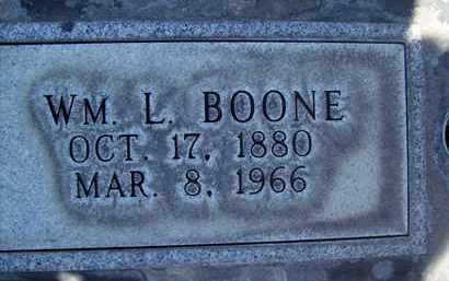 BOONE, WILLIAM LEROY - Sutter County, California | WILLIAM LEROY BOONE - California Gravestone Photos