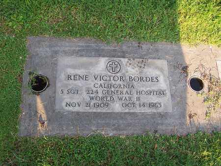BORDES, RENE VICTOR - Sutter County, California | RENE VICTOR BORDES - California Gravestone Photos