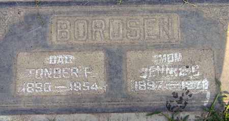 BORDSEN, TONDER PETER - Sutter County, California | TONDER PETER BORDSEN - California Gravestone Photos