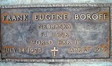 BOROFF, FRANK EUGENE - Sutter County, California   FRANK EUGENE BOROFF - California Gravestone Photos