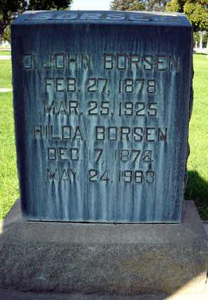 BORSEN, HILDA - Sutter County, California | HILDA BORSEN - California Gravestone Photos