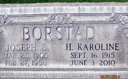 BORSTAD, JOSEPH EDWIN - Sutter County, California | JOSEPH EDWIN BORSTAD - California Gravestone Photos