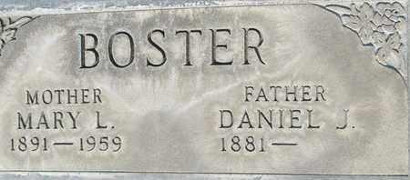 BOSTER, DANIEL J. - Sutter County, California   DANIEL J. BOSTER - California Gravestone Photos