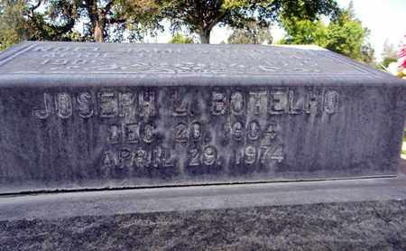BOTELHO, JOSEPH LOUIS - Sutter County, California | JOSEPH LOUIS BOTELHO - California Gravestone Photos