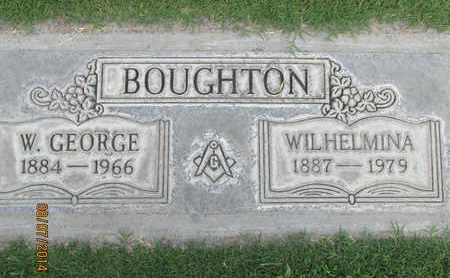 BOUGHTON, WILHELMINA - Sutter County, California | WILHELMINA BOUGHTON - California Gravestone Photos