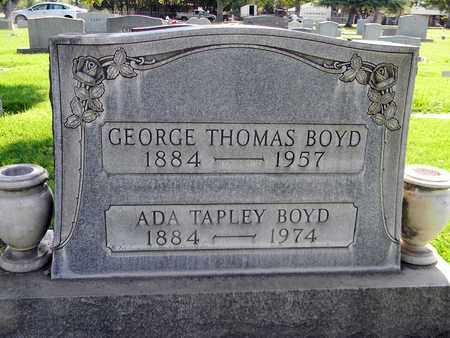 BOYD, ADA TAPLEY - Sutter County, California | ADA TAPLEY BOYD - California Gravestone Photos