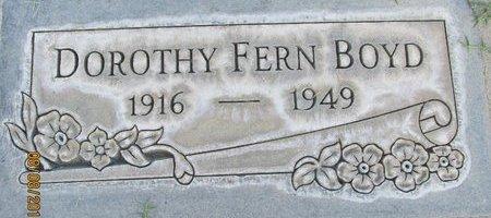 BOYD, DOROTHY FERN - Sutter County, California | DOROTHY FERN BOYD - California Gravestone Photos