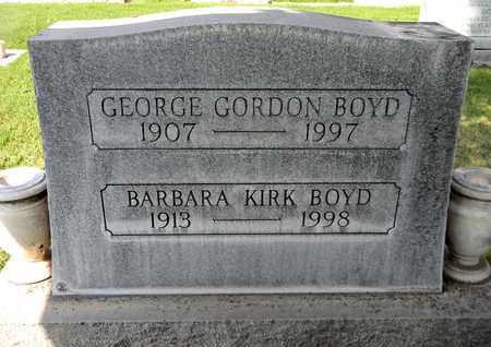 BOYD, GEORGE GORDON - Sutter County, California | GEORGE GORDON BOYD - California Gravestone Photos