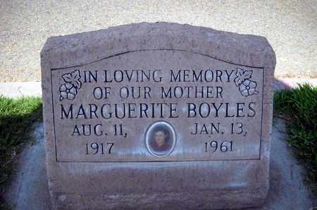 BOYLES, MARGUERITE - Sutter County, California | MARGUERITE BOYLES - California Gravestone Photos