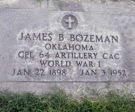 BOZEMAN, JAMES BENJAMIN - Sutter County, California | JAMES BENJAMIN BOZEMAN - California Gravestone Photos