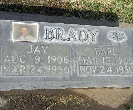 BRADY, JAY EDWARD - Sutter County, California | JAY EDWARD BRADY - California Gravestone Photos