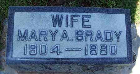 BRADY, MARY ARTLISS - Sutter County, California | MARY ARTLISS BRADY - California Gravestone Photos
