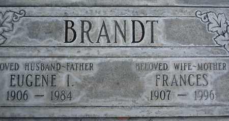 BRANDT, EUGENE IVAN - Sutter County, California | EUGENE IVAN BRANDT - California Gravestone Photos
