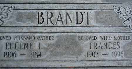 BRANDT, FRANCES - Sutter County, California | FRANCES BRANDT - California Gravestone Photos