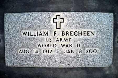 BRECHEEN, WILLIAM FREDRICK - Sutter County, California | WILLIAM FREDRICK BRECHEEN - California Gravestone Photos