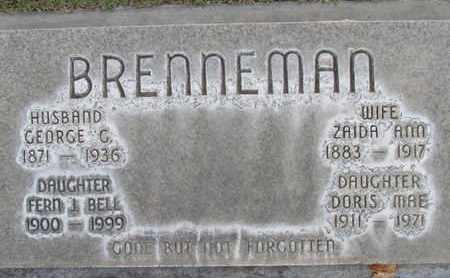 BELL, FERN JENNETTIE - Sutter County, California | FERN JENNETTIE BELL - California Gravestone Photos
