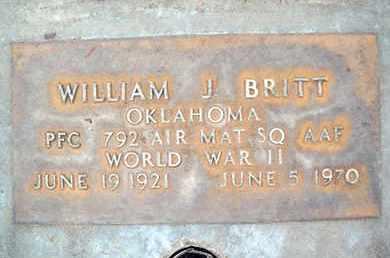 BRITT, WILLIAM JAY - Sutter County, California | WILLIAM JAY BRITT - California Gravestone Photos