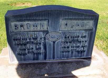 BROWN, HOWARD LEROY - Sutter County, California | HOWARD LEROY BROWN - California Gravestone Photos