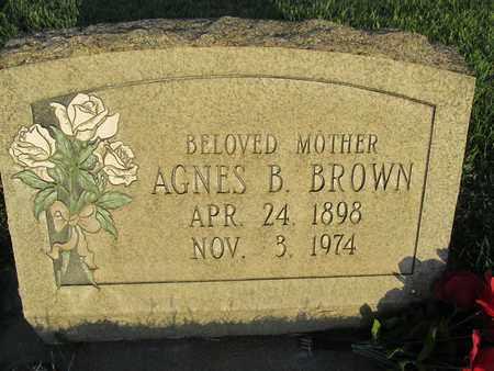 BROWN, AGNES B. - Sutter County, California | AGNES B. BROWN - California Gravestone Photos