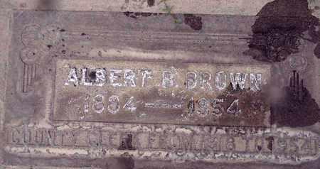BROWN, ALBERT B. - Sutter County, California   ALBERT B. BROWN - California Gravestone Photos