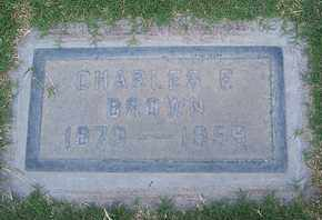 BROWN, CHARLES FRANKLIN - Sutter County, California   CHARLES FRANKLIN BROWN - California Gravestone Photos