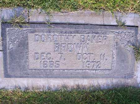 BAKER BROWN, DOROTHY ELLEN - Sutter County, California | DOROTHY ELLEN BAKER BROWN - California Gravestone Photos