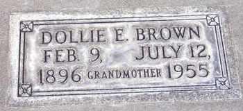 BROWN, DOLLIE ELIZABETH - Sutter County, California | DOLLIE ELIZABETH BROWN - California Gravestone Photos