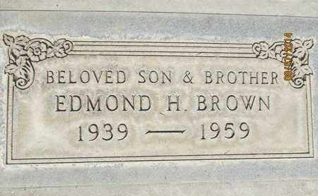 BROWN, EDMOND H. - Sutter County, California   EDMOND H. BROWN - California Gravestone Photos