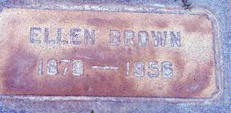 BROWN, ELLEN - Sutter County, California | ELLEN BROWN - California Gravestone Photos