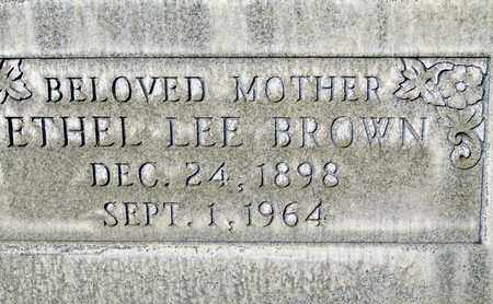 BROWN, ETHEL LEE - Sutter County, California | ETHEL LEE BROWN - California Gravestone Photos