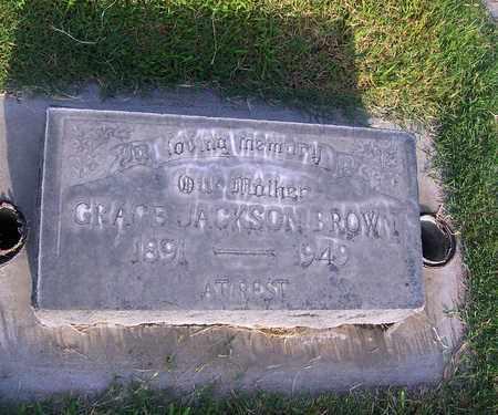 BROWN, GRACE JACKSON - Sutter County, California | GRACE JACKSON BROWN - California Gravestone Photos