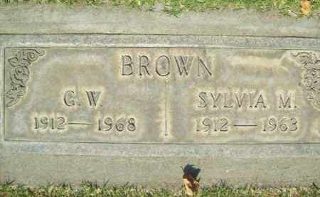BROWN, SYLVIA MARIE - Sutter County, California | SYLVIA MARIE BROWN - California Gravestone Photos